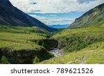 gorge in the sayan mountains | Shutterstock . vector #789621526