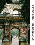 hue  vietnam   10th december... | Shutterstock . vector #789630166