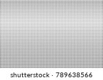 black white dotted texture.... | Shutterstock .eps vector #789638566