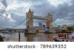 london cityscape with... | Shutterstock . vector #789639352