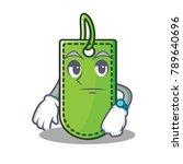 waiting price tag mascot cartoon   Shutterstock .eps vector #789640696