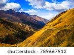 mountain hills landscape | Shutterstock . vector #789667912