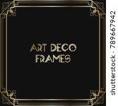 vintage retro style invitation  ...   Shutterstock .eps vector #789667942