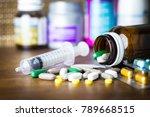 drug prescription for treatment ...   Shutterstock . vector #789668515