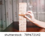board game with figurines | Shutterstock . vector #789672142