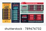 design of banners. set of auto... | Shutterstock .eps vector #789676732