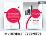 business brochure background... | Shutterstock .eps vector #789698506