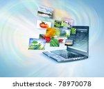 best internet concept of global ...   Shutterstock . vector #78970078