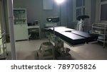 modern operating table medical... | Shutterstock . vector #789705826