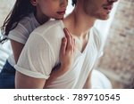 cropped image of beautiful... | Shutterstock . vector #789710545