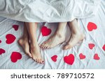 cropped image of young couple... | Shutterstock . vector #789710572