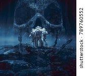 planet of doom   3d...   Shutterstock . vector #789760552