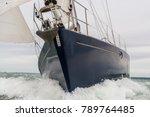 close up of sailing boat  sail... | Shutterstock . vector #789764485