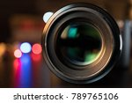 the photo or videocamera lens...   Shutterstock . vector #789765106