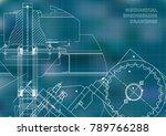 engineering backgrounds.... | Shutterstock .eps vector #789766288