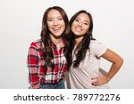 image of two asian pretty... | Shutterstock . vector #789772276