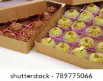 boxes of traditional brazilian... | Shutterstock . vector #789775066