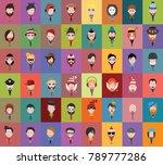 group people men and women... | Shutterstock .eps vector #789777286