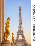 paris  france   october 31 ... | Shutterstock . vector #789782902