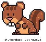 vector illustration of cartoon... | Shutterstock .eps vector #789783625