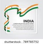 india flag background | Shutterstock .eps vector #789785752