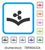 ripple knowledge icon. flat...