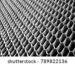 architecture details wall metal ... | Shutterstock . vector #789822136
