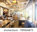 blurred image of people waiting ... | Shutterstock . vector #789836872