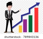 business man characters... | Shutterstock .eps vector #789843136