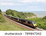 Small photo of Grand Central HST on route down the Durham Coast June 2014.