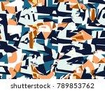 abstract vector background.... | Shutterstock .eps vector #789853762