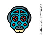 horror emoji's   they live  | Shutterstock .eps vector #789857656