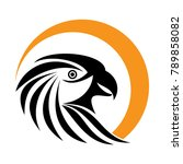 eagle logo icon | Shutterstock .eps vector #789858082