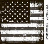 american flag background.... | Shutterstock .eps vector #789882166