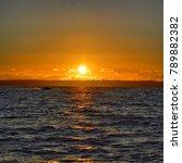 winter sunset over the isle of... | Shutterstock . vector #789882382