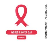 world cancer day concept   Shutterstock .eps vector #789887356