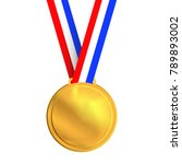 medal winner. vector | Shutterstock .eps vector #789893002