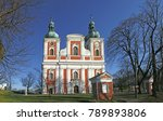 the pilgrimage church on the...   Shutterstock . vector #789893806