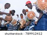 yamoussoukro  ivory coast  ... | Shutterstock . vector #789912412