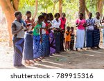 kaguit vil.  senegal   apr 30 ... | Shutterstock . vector #789915316