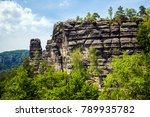 national park bohemian... | Shutterstock . vector #789935782