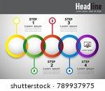 steps infographics  business...   Shutterstock .eps vector #789937975