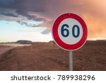 a speed limit sign in the... | Shutterstock . vector #789938296