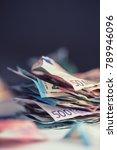 euro money euro banknotes euro... | Shutterstock . vector #789946096