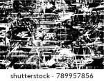 abstract grungy distressed...   Shutterstock .eps vector #789957856