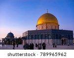 baitulmuqaddis  palestine  ...   Shutterstock . vector #789965962