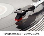 turntable vinyl record player.... | Shutterstock . vector #789973696