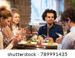 technology  leisure and people...   Shutterstock . vector #789991435