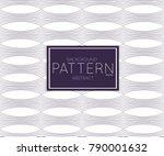 abstract geometric vector... | Shutterstock .eps vector #790001632
