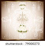 romantic rose card collection | Shutterstock .eps vector #79000273